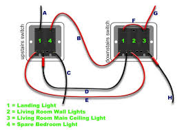two way switch forums i have attached a diagram which i have created to illustrate what i ve currently got it looks nothing like the two way switch wiring diagrams i can on