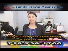 sunita travel agency tv ad you