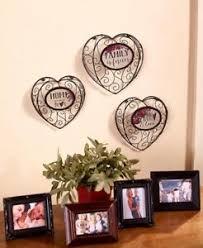 image is loading set of 3 metal heart wall art home  on home is where the heart is metal wall art with set of 3 metal heart wall art home decor ebay