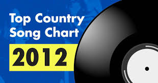 Top 100 Country Song Chart For 2012