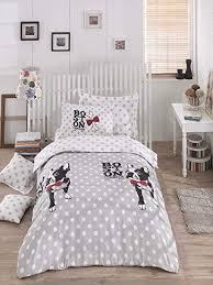 polka dot bedding. Brilliant Dot DecoMood Boston Terrier Polka Dot Bedding Set Dogs Themed SingleTwin Size  Quilt And