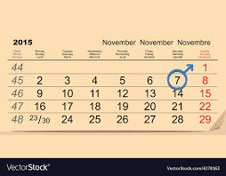 Calendar Format 2015 7 November 2015 International Mens Day Calendar