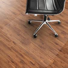 clear office desk. Office Marshal PVC Chair Mat For Hard Floors - 36\ Clear Office Desk