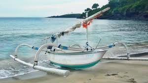 Image result for perahu jukung