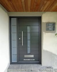 contemporary front doors modern front