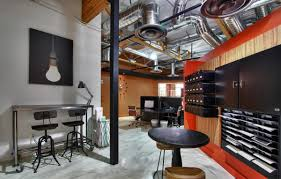 industrial office. Modern Industrial Office Design With .