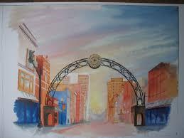 jon fuchs main street print 30 arts council of southwestern indiana 318 main