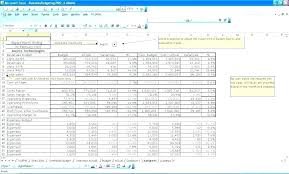 Microsoft Excel Personal Budget Template Senetwork Co