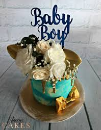 Baby Boy Blue Staceys Cakes