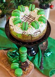 Irish Cream Chocolate Mint Cheesecake Tatyanas Everyday Food