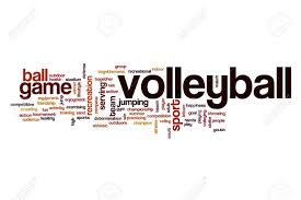 Volleyball Word Volleyball Word Cloud