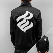 rocawear lightweight jacket logo in black