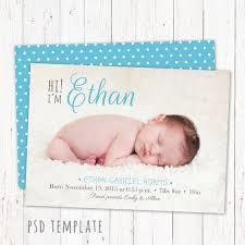 Boy Baby Birth Announcements Birth Announcements Parents