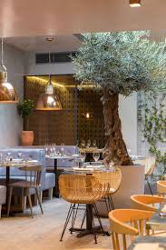 bandol bar restaurant by kinnersley kent design in london s chelsea is inspired by outdoor dining in provence mixed with a strongly contemporary feel