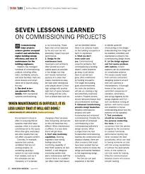 commissioning hvac systems lessons learned justin nichols professional profile