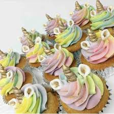 Unicorn Cupcakes Sold By The Dozen Olivers Desserts