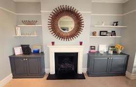 traditional bespoke fitted alcove furniture winchmore hill