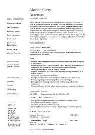 Sample Resume For Accounting Position – Eukutak