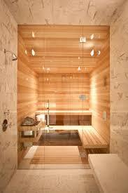 Home Steam Shower Design Bathroom Sauna Wood Architecture Shower Modern Warm
