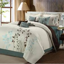 charming teal bedding queen 19 chic home bliss garden 8 piece comforter set house fancy teal bedding