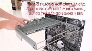 Bên trong máy rửa chén Kuchen 80364, new 70373, 60355 - YouTube