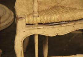 high end shabby chic french ladder back dining chairs