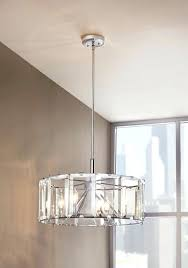 glass ceiling lighting home decorators collection 4 light ceiling light fixture pendant in polished chrome with