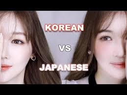 guide your daiya with korean style makeup vs anese style video in korean with closed captions available for english anese asianbeauty