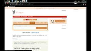 Research Paper Citing A Website Main Idea Homework