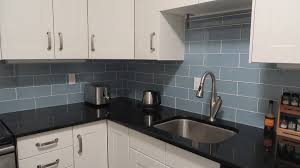 awesome white grey black wood stainless unique design blue gray glass subway tiles kitchen backsplash wall awesome white grey glass stainless modern design