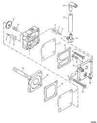 Fuel pump for mariner mercury 135 150 175 200 2 5l xr4 magnum ii