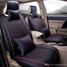 auto car seat cover cushion set pu leather with pillows for toyota audi hyundai mazda models car seat covers universal size m britex car seat car seat