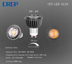 China Hot Selling 6/8W <b>LED Light</b> Fixture <b>GU10 Spotlight</b> with Die ...