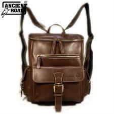 details about ancient road 100 genuine leather uni backpack ipad laptop bag qj026a au