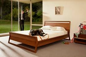 modern wood beds. Wonderful Wood Double Bed  Single Contemporary With Headboard  WOODROW Inside Modern Wood Beds R