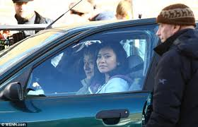 The foreigner, az idegen, cudzoziemiec description: Harry Potter Star Katie Leung Films The Foreigner With Jackie Chan Daily Mail Online