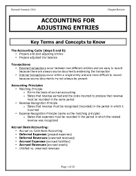 Prepaid Insurance Journal Entry Pdf Accounting For Adjusting Entries Key Terms And Concepts