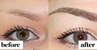 what it s really like to get permanent eyebrow tattoos see before and after glamour