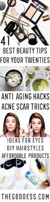 best beauty tips for your 20s hair makeup and style guides for women in