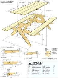 plans picnic table free printable woodworking plans picnic table build woodworking project plans free plans picnic table bench combo design picnic table