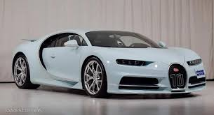 When @lord aleem said he had a @bugatti chiron we were excited for him, when he said he wanted @yiannimize to wrap it we were ecstatic for us, then he said he needed it in 24hrs… in chrome blue. One Off Bugatti Chiron Vainqueur De Coeur Is A Light Blue Monster Carscoops