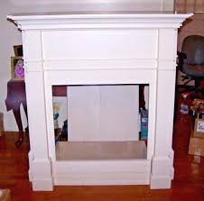 dimplex fireplace mantel 50 antique white wood surround cabinet for electric