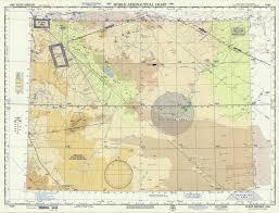 World Aeronautical Chart Wadi Sirhan Saudi Arabia
