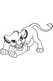 <b>Раскраски Король Лев</b>