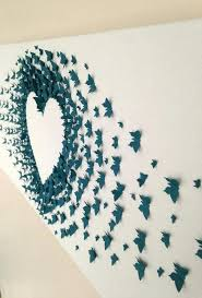 paper wall decorations erfly paper art wall decoration ideas paper wall art ideas panels art paper
