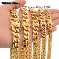 Wholesale Miami Cuban Chain Stainless for Resale - Group Buy ...