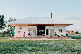 Modern Wood House 65 Sqm Modern Simple House Design Made Of Wood With Steel Pipes