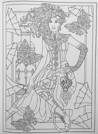 amazon creative haven steunk fashions coloring book coloring 0800759797486 marty le books