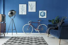 interior painting blue room