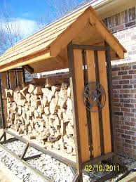 firewood rack with roof interesting wooden and materials for modern home accessories design how build